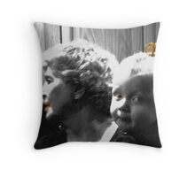 Lovely Lady 2 Throw Pillow