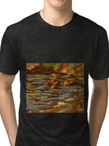 Early morning at Oyster Cove Tri-blend T-Shirt