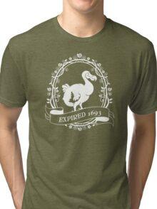 Dodo: Expired 1693 (white) Tri-blend T-Shirt