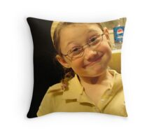 Lovely Lady 6 Throw Pillow