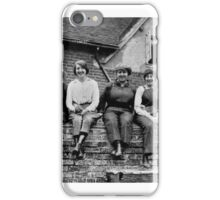 THE WAR BROWNIES RESTING DURING LUNCH TIME - MUNITION WORKERS OF ENGLAND 1916 iPhone Case/Skin