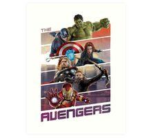 Avengers age of ultron Art Print