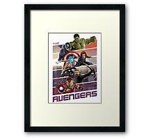 Avengers age of ultron Framed Print