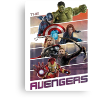 Avengers age of ultron Canvas Print