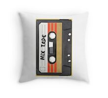 Awesome Music Tape Throw Pillow