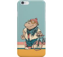 Biking is a way of life iPhone Case/Skin