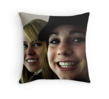 Lovely Lady 11 Throw Pillow