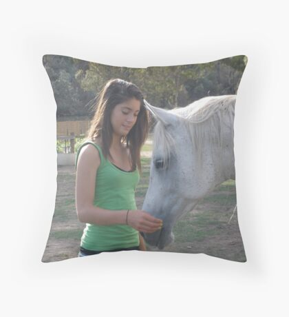 Sensitive Connection Throw Pillow