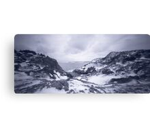 Pinhole Panoramic of Cuckold's Cove, Newfoundland Canvas Print