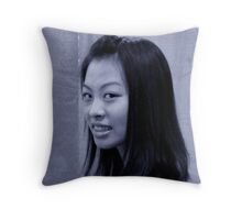 Lovely Lady 22 Throw Pillow