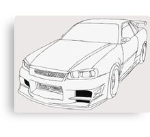 Nissan Skyline Canvas Print