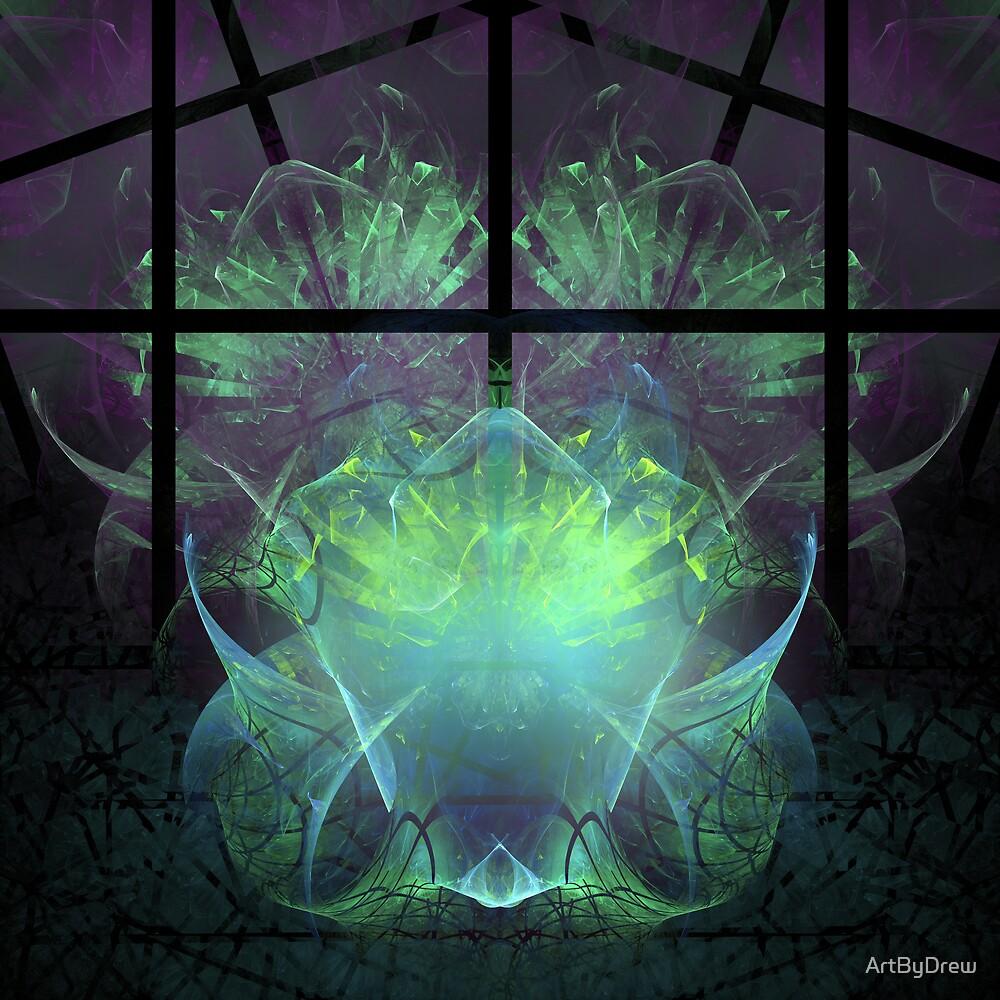 Aliens In My Greenhouse by ArtByDrew