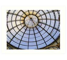 Galleria Vittorio Emanuele - Milan Art Print