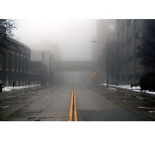 Downtown Fog Photographic Print