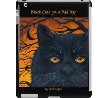 "Black Cats get a Bad Rap - ""The Wind Blows"" iPad Case/Skin"