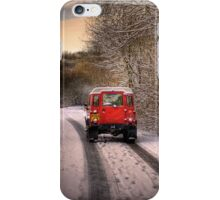 Out in the Snow iPhone Case/Skin