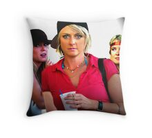 Lovely Lady 38 Throw Pillow