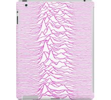 Pulsar waves - White&Pink  iPad Case/Skin