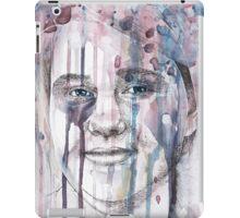 Splatter portrait iPad Case/Skin