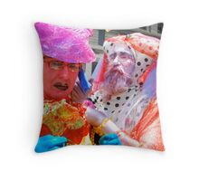 Faries preparing  Throw Pillow