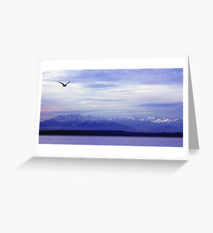 Seattle Puget Sound Greeting Card