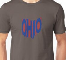 Ohio State Word Art Unisex T-Shirt