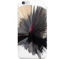 """""""artotem iv"""" oil painting as a Spherical Depth Map. 2 iPhone Case/Skin"""