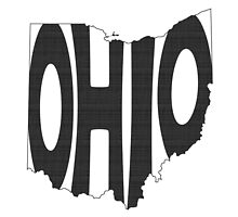 Ohio State Word Art by surgedesigns
