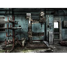 A pressing matter Photographic Print