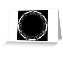 Stargate SG-1 Greeting Card
