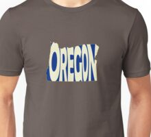 Oregon State Word Art Unisex T-Shirt