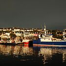 Dark and Light - Baltimore, West Cork after the passing of a front by Orla Flanagan