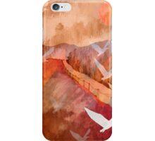 Gulls Overflying Downland iPhone Case/Skin