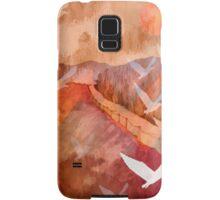 Gulls Overflying Downland Samsung Galaxy Case/Skin