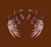Steampunk Angel Wings by AngelaZA