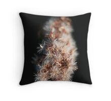 macro life Throw Pillow