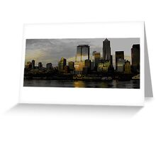 Seattle Waterscape Greeting Card