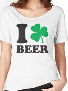 St. Patrick's day: I love Beer Women's Relaxed Fit T-Shirt