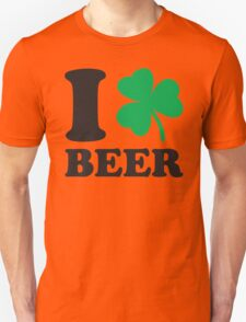 St. Patrick's day: I love Beer T-Shirt