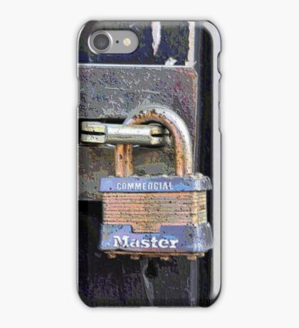 The Master Lock iPhone Case/Skin