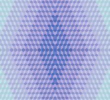 Sneuvelnation - blue purple cubes by SneuvelNation