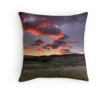 Morning Dunes of Inverness Throw Pillow