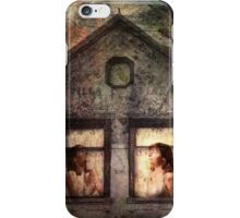 Waiting for the storm to abide iPhone Case/Skin