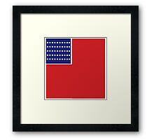 Star Spangled Banner  Framed Print