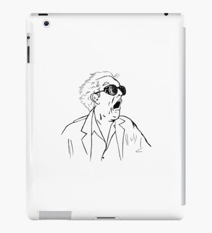 Doc Brown iPad Case/Skin