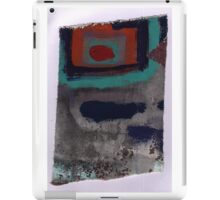 Piece 3 rectangle red iPad Case/Skin