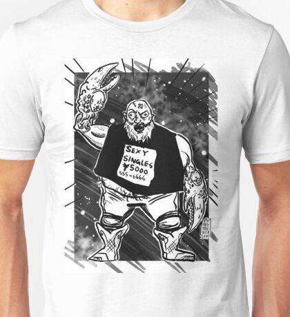 CANCER JAQUES Unisex T-Shirt