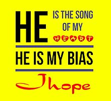 HE IS MY BIAS JHOPE - Yellow by Kpop Seoul Shop