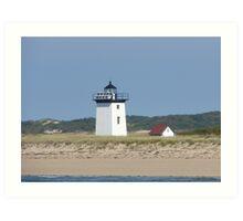 Cape Cod Light House Art Print