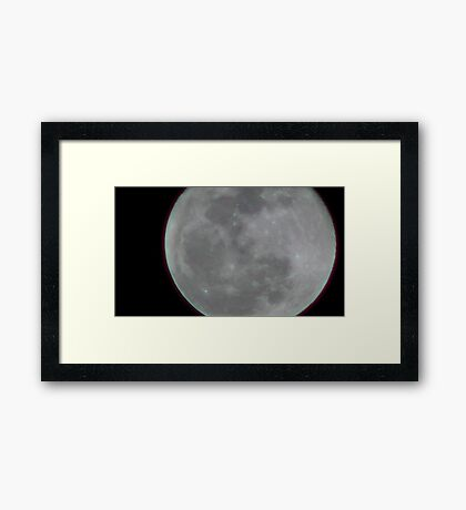 Moon Rise 002 Framed Print